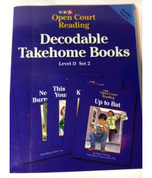 SRA Open Court Reading Decodable Takehome Books Level D Set 2