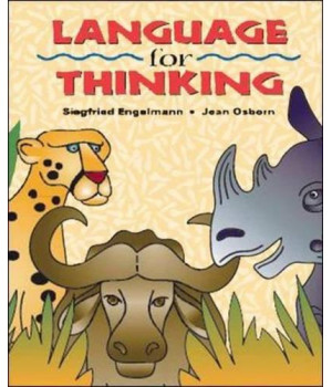 Language for Thinking: Additional Answer Key, Grades 1-3 (Cursive Writing)