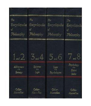 encyclopedia of philosophy: vols 3 & 4 in 1 book (vol 3 and 4 in 1)
