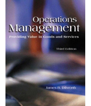 operations management: providing value in goods and services