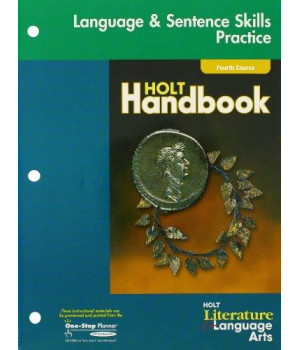 Holt Literature and Language Arts California: Language Skills Practice Grade 10