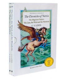The Chronicles of Narnia Full-Color Oversize Gift Edition Box Set: The Magician's Nephew; The Lion, the Witch, and the Wardrobe