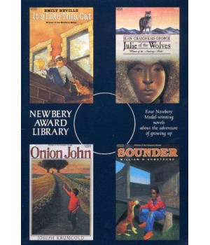 Newbery Award Library Box Set: Sounder, Onion John, Julie of the Wolves, It\'s Like this Cat