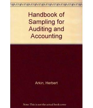 Handbook of Sampling for Auditing and Accounting