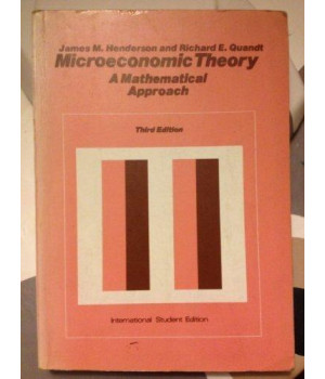 Microeconomic Theory: A Mathematical Approach (Economics handbook series)