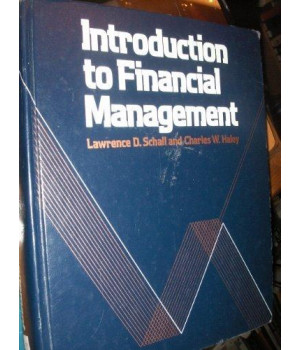 Introduction to financial management (McGraw-Hill series in finance)