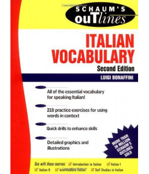 Schaum\'s Outline of Italian Vocabulary