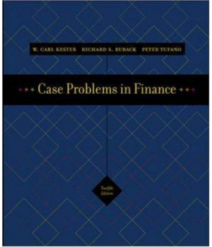 Case Problems in Finance + Excel templates CD-ROM (Irwin Series in Finance, Insurance, and Real Estate,)