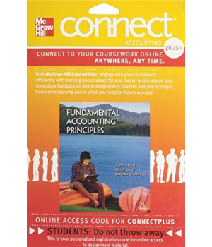 Connect 2-Semester Access Card for Fundamental Accounting Principles