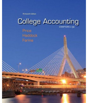 College Accounting, Chapters 1-30, 13th Edition