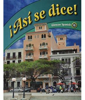 Asi se dice: Glencoe Spanish 1b (Spanish Edition)
