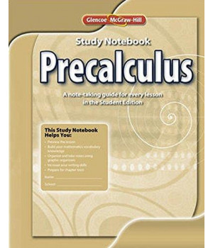 precalculus, study notebook (advanced math concepts)