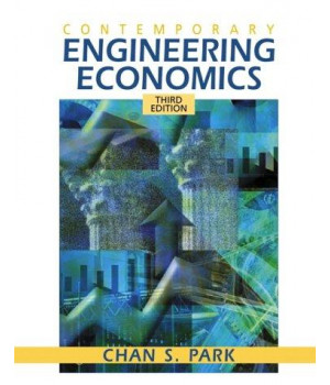 Contemporary Engineering Economics (3rd Edition)