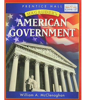 MAGRUDER\'S AMERICAN GOVERNMENT STUDENT EDITION 2006C