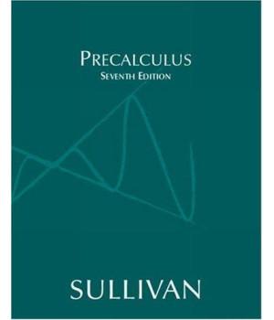 Precalculus (7th Edition)