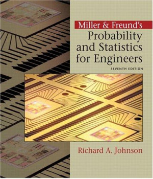 Miller & Freund\'s Probability and Statistics  for Engineers (7th Edition)