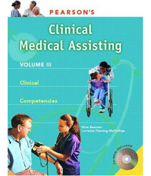 Pearson\'s Clinical Medical Assisting