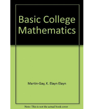 Basic College Mathematics 3/E (HARDCOVER)