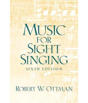 Music for Sightsinging (6th Edition)