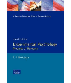 Experimental Psychology Methods of Research (7th Edition)