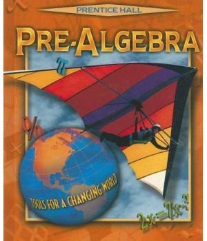 PRE-ALGEBRA 4E STUDENT ED. 2001C