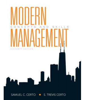 Modern Management: Concepts and Skills (11th Edition)