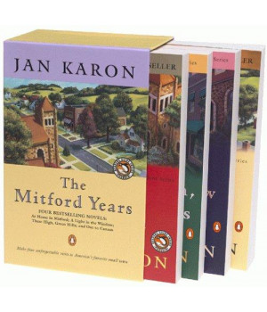the mitford years: at home in mitford / a light in the window / these high, green hills / out to canaan (four-volume set)