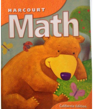 Harcourt School Publishers Math California: Student Edition  Grk 2002