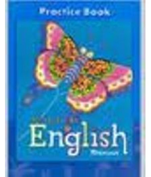 Moving Into English, Student Edition, Practice Book, Grade 4