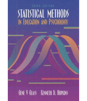 statistical methods in education and psychology (3rd edition)
