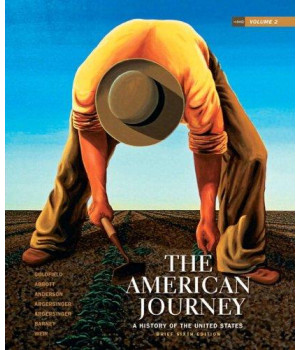 The American Journey: A History of the United States, Brief Edition, Volume 2 Reprint (6th Edition)