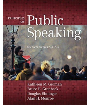 Principles of Public Speaking (17th Edition)