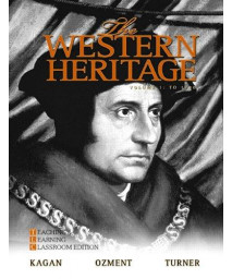 The Western Heritage, Vol. 1, 6th Teaching and Learning Classroom Edition