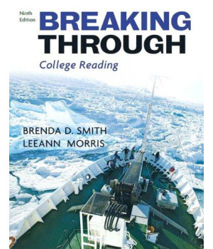 Breaking Through (with MyReadingLab Student Access Code Card) (9th Edition)