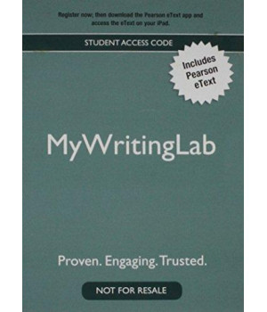 New Mywritinglab with Pearson Etext - Valuepack Access Card