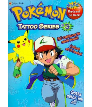 Pokemon Tattoo Series #3 (Tattoo Time) (No 3)