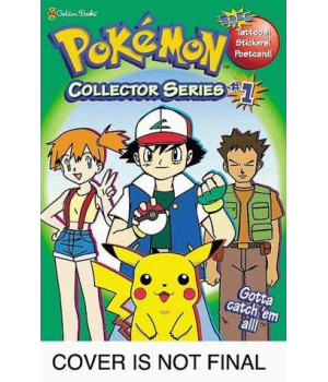 Pokemon Collector Series 1 (Coloring and Activity Book with Free Tattoos, Stickers, and Postcard)