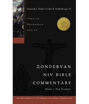 Zondervan NIV Bible Commentary, Volume 2: New Testament (Premier Reference Series, an Abridgment of The Expositor\'s Bible Commentary)