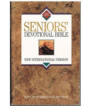 Seniors' Devotional Bible: New International Version