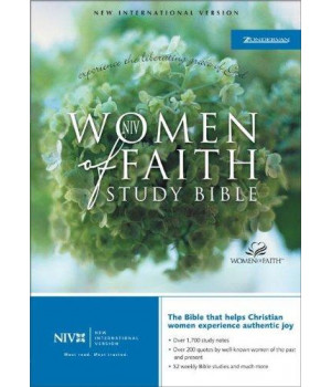 NIV Women of Faith Study Bible - Violet