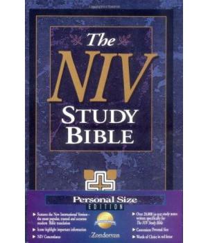 NIV Study Bible, Personal Size