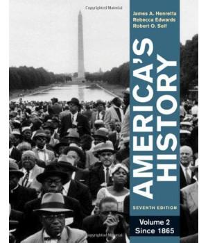 America's History, Volume 2: Since 1865