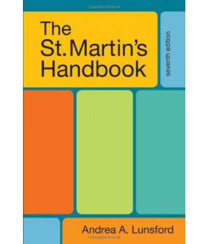 The St. Martin\'s Handbook, 7th Edition