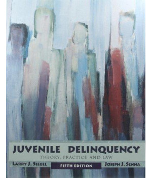 Juvenile Delinquency: Theory, Practice, and Law