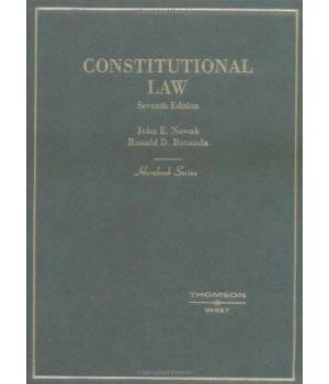 Constitutional Law (Hornbook Series) (Hornbook Series Student Edition)