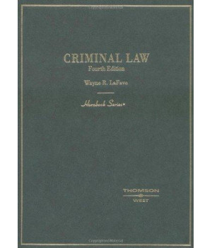 Criminal Law (Hornbook Series)