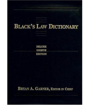Black\'s Law Dictionary: Deluxe Thumb-Index