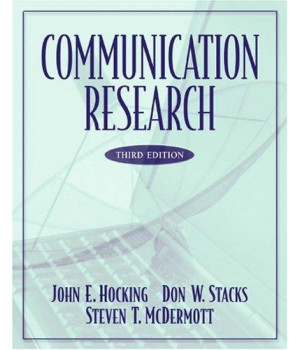 communication research (3rd edition)