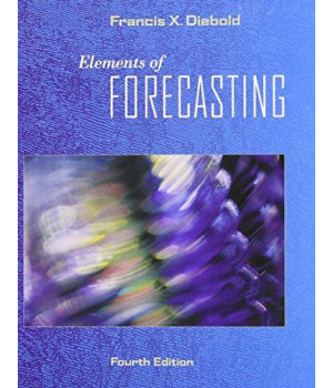 elements of forecasting (with infotrac 1-semester, economic applications online product, data sets printed access card)