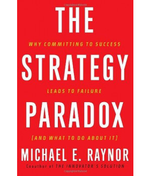 The Strategy Paradox: Why Committing to Success Leads to Failure (And What to do About It)